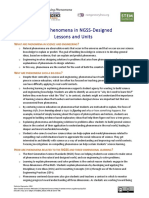 Handout 2-Module 1, Using Phenomena in NGSS