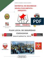 plan de seguridad de seguridad ciudadana 2018