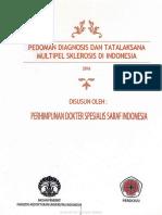 PERDOSSI - Pedoman Diagnosis dan Tatalaksana Multipel Sklerosis di Indonesia 2016.pdf
