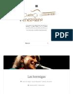 Acordes de_ Las hormigas _ micuatro.com - La casa del cuatro venezolano