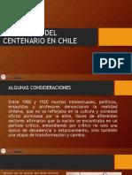 APUNTE EL BALANCE DEL CENTENARIO EN CHILE