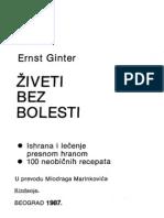 Gunter Ernst - Ziveti Bez Bolesti