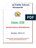 VIII_Social-Science-Worksheets_Session_2012_2013