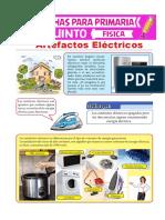 Artefactos-Eléctricos-para-Quinto-de-Primaria FICHA DE TRABAJO