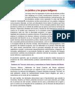 Pluralismo jurídico y los grupos indígenas