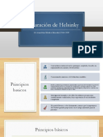 Declaración de Helsinky