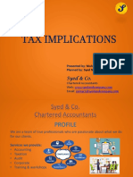 Tax workshop PDF version