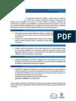 INSTRUCTIVO PRESENTACION FORMATOS  PUNTOS DE CONTROL