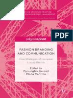 Fashion Branding and Communication eBook