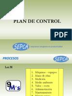 3. Plan de control