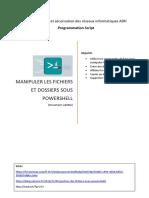 Chapitre 3 Manipuler les fichiers et dossiers en powershell stag