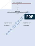 ECE Earthing PDF Report