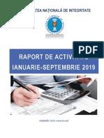 Raport ANI 9 Luni 2019