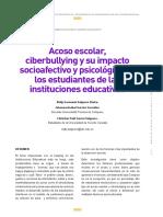 Acoso escolar, ciberbullying y su impacto socioafectivo y psicológico....pdf