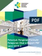 New Pedoman E Report Per Jun 2019