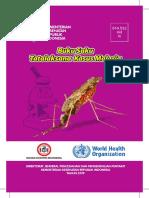 Buku Saku Tatalaksana Kasus Malaria 2019