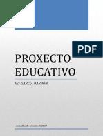 Proxecto Educativo 2016-Revisado