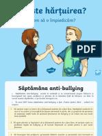 Ce este hartuirea - Prezentare PowerPoint