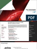 KaarTech SystemConversion Manufacturing Hightech