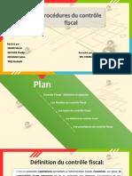 Les procédures du contrôle fiscal