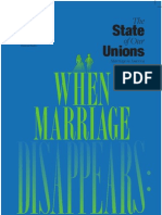 State of Marriage Report