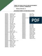 CDPHE Reg. 61 - Discharge Permit System