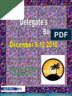 NatCo Second Delegates Booklet 2010
