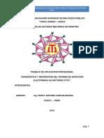 DIAGNOSTICO Y REPARACION DEL SISTEMA DE INYECCIÓN ELECTRONICA DE MOTORES OTTO