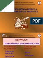 ATENCIÓN MÉDICA DESDE LA PERSPECTIVA DE LOS PACIENTES(5)