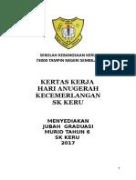2017 KERTAS KERJA MOHON JUBAH BAIAH