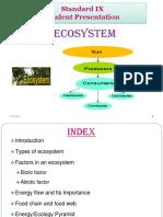 Ecosystems_Student Presentation