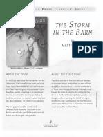 The Storm in the Barn by Matt Phelan Teachers' Guide