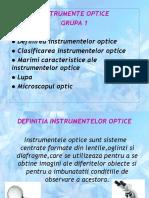 grupa 1(9B) - instrumente optice