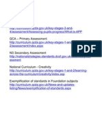 Pupil tracking and assessment - Useful Web Links