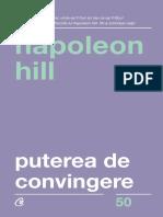 Puterea de convingere Ed.3 - Napoleon Hill