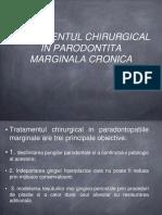 Parodontita marginala cronica treatment