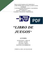 LIBRO DE JUEGOS