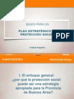 """Presentación """"Bases para un Plan Estratégico de Protección Social"""" por Fabián Repetto"""