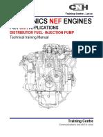 NEF ENGINES (Distributor Fuel - Injection Pump)