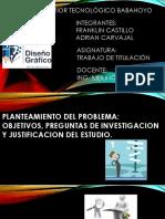 DIAPOSITIVAS PLANTEAMIENTO