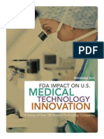 FDA Impact U.S. Medical Technology Innovation