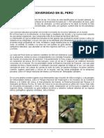 Biodiversidad y Desarrollo en el Perú2