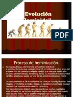 Evolucin Hominida 1