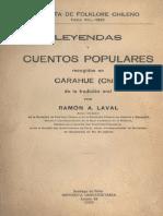 LEYENDAS Y CUENTOS POPULARES DE RAMÓN LAVAL