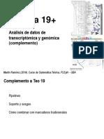 Teo 19 Filogenomica - Complemento