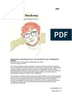 David Hockney - Video Brings Its Time To You