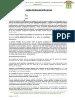 ESPECIFICACIONES TÉCNICAS - III ETAPA
