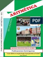 Aritmética 1 Secundaria (publicaciones Dominguinas)
