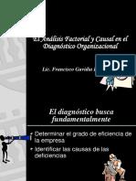 El Análisis Factorial y Causal en el Diagnóstico