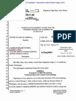 Criminal Complaint - Journalist Intimidation Case